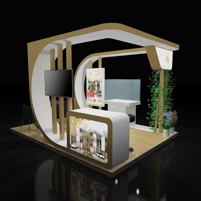 Jasa Kontraktor Desain Booth Pameran 2019